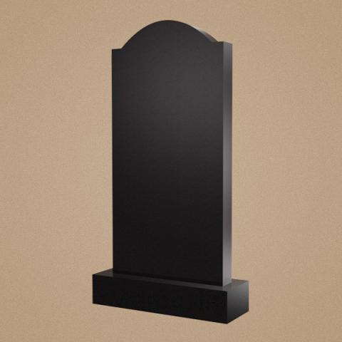 Классический памятник со сругленным верхом