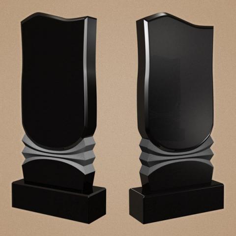 Вертикальный фигурный памятник из габбро-диабаза